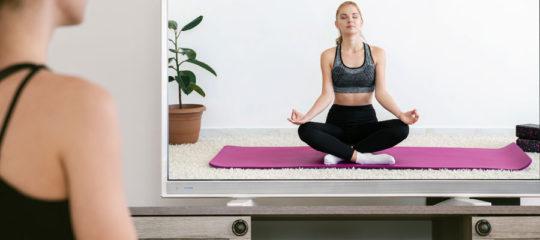 Yoga en ligne